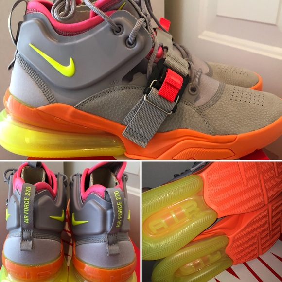 ️Nike Air Force 270  Sherbert   DS w Rcpt 87090a621